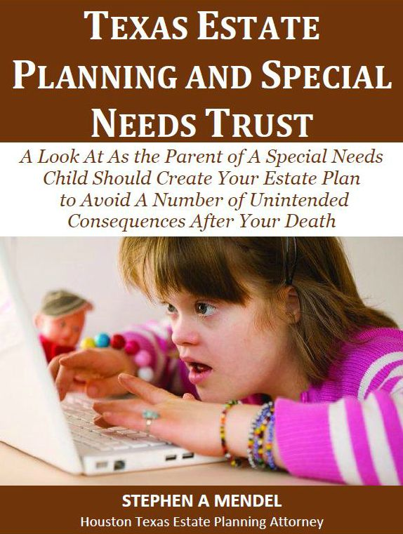 Texas Estate Planning and Special Needs Trust