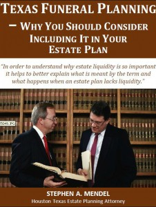 Texas Funeral Planning: Why You Should Consider Including It In Your Estate Plan