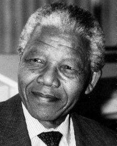 Nelson Mandela Black-White