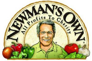 P. Newman on Newman's Own Bottle