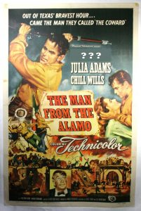 "Movie Poster of ""The Man From the Alamo"""